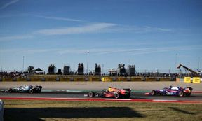 """<p>He's almost certain to celebrate after the race, but Lewis Hamilton had an underwear qualifying session for the United States Grand Prix, finishing fifth after a near-miss with Max Verstappen.</p><p>At turn 19 in Q2, there was a close encounter between Verstappen and Hamilton, who had waged a war of words through the media following their collision at the start of the Mexico Grand Prix last week, with Hamilton complaining about the threat of being """"torpedoed"""" by the aggressive style of the Red Bull driver and Verstappen accusing him of being """"unrespectful.""""</p><p>Verstappen was forced into the grass as he tried to pass through Hamilton, whom himself was trying to overtake Daniil Kvyat's, Toro Rosso. Stewards decided that the incident was not worthy of investigation, although there was a hint of contempt when Verstappen was asked about it.</p><p>""""We were all lined up to make our lap, to get to the last corner,"""" he said. """"We slowed down to make space, and Lewis just walked away like no one was there, and I didn't care, and I said, ' Well, if you don't care I don't care, I'm going to get my position back, '"""" he added, admitting it was """"a close call.""""</p><p>Hamilton's been downplaying the moment. """"Just nothing, nothing at all,"""" he said. """"There are no rules and regulations that say that you need to stay in a single file. I kept going, and then he started to try to race me.""""</p><p>Hamilton's Mercedes teammate, Valtteri Bottas, secured pole position on Saturday with a lap time of 1,32,029, just ahead of Ferrari's Sebastian Vettel and Verstappen. The pole leader of this season, Charles Leclerc, was fourth. In the third practice session, he had to switch to the used engine after an oil leak in his Ferrari.</p><p><br></p>"""