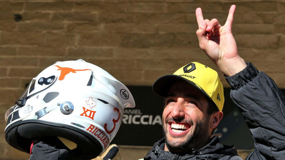 "<p>Renault's Daniel Ricciardo said that he had put a run of disappointing qualifying performances behind him at the Circuit of the Americas by making the Q3, and that he was ready to make up positions starting on Sunday's soft tyres.</p><p>Ricciardo's P9 in qualifying was his highest in the Five Grand Prix, and Honey Badger was obviously pleased when he made it to Q3 for the first time since the Italian GP–where he finished.</p><p>""We had a tough few weeks in qualifying where I wasn't too happy with myself, but today it was a lot better and I extracted more or less of everything from the car,"" he said.</p><p>""We're going to give it a go tomorrow, I'm going to get the horns out and look ahead. We're starting on the soft one. Maybe it's not the best tyre to start the race, but it's what it's like."" We're on the clean side of the track, too, so we're going to make some places out there and get our heads down there.</p><p>As for teammate Nico Hulkenberg, who starts 11th after missing out on Q3, there may be a silver lining as he gets a free choice of tyres in the race-meaning he has the option to start on a more robust medium or hard rubber.&nbsp;</p><p>""I've lost a little bit of pace, a little bit of unity and equilibrium, and that's clear enough to tip you off,"" he said. ""Eleventh is a good starting point, [ it ] offers us flexibility and policy – who knows what it's worth tomorrow?</p><p>However, not all of Ricciardo's smiles were in Texas, as he admitted that he wanted more time to enjoy the sights, flavors, and sounds of Austin.</p><p>""I love this place,"" he said. ""But I was a little sad this week because I got here late, early Thursday morning, and that meant I was on the track, I haven't had a chance to see any live music yet, to eat any barbecue.</p><p><br></p>"