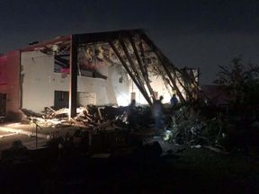 <p>A storm erupted in northern Dallas on Sunday, according to the National Weather Service in Fort Worth. The service posted that it had visual confirmation north of Interstate 635 and east of I-75 at around 9:30 p.m. It's CDT.</p><p>No reported injuries or deaths were recorded early Monday morning, the city's website said. Police and fire crews are still assessing the damage caused by the storm.</p><p>City officials have urged residents to stay indoors if they are in the area with storm damage due to downed trees, power lines, and debris. There have been rumors of a gas leak in the city of Walnut Hill.</p><p>Six schools across the Dallas Independent School District canceled classes on Monday due to extensive damage sustained by some of the buildings in the tornado, the district tweeted.</p><p>The Dallas metro area reportedly has over 65,000 consumers without electricity, according to Oncor. There is no known time for energy recovery, states Oncor's website. The community must open a shelter at 2 a.m. The Bachman Sports Center.</p>
