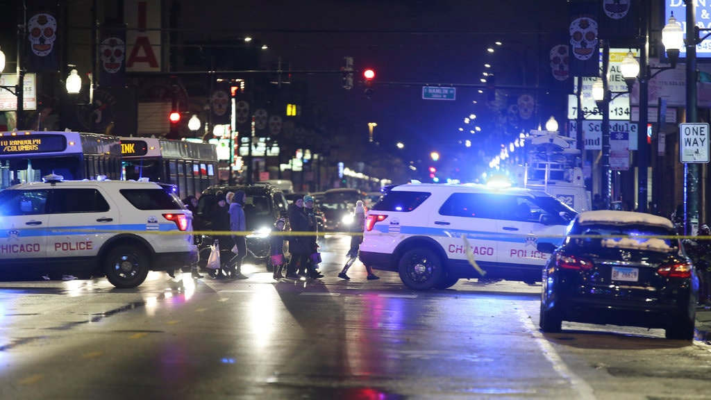"""<p>The girl, believed by the authorities to be an unintended victim, was taken to a hospital in critical condition.</p><p>A 7-year-old girl was shot in the neck when trick-or-treat her family on Chicago's West Side on Thursday evening, putting her in critical condition, the police stated.</p><p>The shooting, which took place around 5:30 p.m. In the Little Village neighborhood, at least one person in a group of at least three men opened fire on a 31-year-old man, as per the Chicago Police Department.</p><p>The man was shot in the left hand and was in stable condition at the hospital, according to the police. The woman, reportedly wearing a bumblebee outfit for Halloween by The Chicago Sun-Times, was transported to another hospital with life-threatening injuries, the police responded.</p><p>The police said that the woman and the 31-year-old man — whose names had not been released — were not together. Anthony Guglielmi, a police spokesperson, said on Twitter that the police believed that she was an """"unintentional victim</p><p>""""Just a 7-year-old child out here, with her family, trick-or-treat, just like anyone else,"""" Sgt. Rocco Alioto of the Chicago Police Department said at a news conference on the scene. """"It isn't supposed to happen anywhere. This is not supposed to happen in this city.""""</p>"""