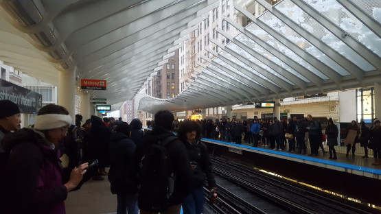 <p>Chicago -- Red Line trains stopped and afterwards re-routed on Thursday afternoon because someone was hit and killed at the Harrison stop by a train.</p><p>Police reported that an incoming train hit a man of about 18 at 4:14 p.m. who sustained head trauma. He then declared dead, stated by&nbsp;the police. The victim was 13 years old at the beginning of Friday morning, officials determined. The Cook County Medical Examiner's office will determine the cause of the man's death, but reports said the victim's injuries appeared to have been self-inflicted.</p><p>The Red Line has been diverted to the Loop ' L ' tracks between Fullerton and Cermak-Chinatown, and the elevated Brown Line tracks on the North Side and Green Line tracks on the East, the Chicago Transit Authority reported.</p><p>The CTA said Red Line trains stopped in Armitage, Sedgwick, Chicago / Franklin, Merchandise Mart, Clark / Lake, State / Lake, Washington / Wabash, Adams / Wabash, and increased Roosevelt stops during the afternoon rush.</p><p>At 6 p.m., in the subway tunnel, southbound Red Line trains were running again, but on the elevated lines northbound trains were still running. Operation eventually returned to normal around 6:30 p.m. The Purple Line Express service between Loop and Howard was also suspended in order to relieve congestion due to the removal of the Red Line subway from Clybourn / Division / State Street.</p><p>Purple Line trains have only been available late Thursday afternoon between Howard and Linden-Wilmette. Despite considerable residual gaps, normal service had resumed by 7 p.m.</p><p>Trains from the CTA Red Line resume normal service following a teen hit. During the evening rush on Thursday after a teenager was struck and killed by a train in the Loop, Red Line trains were moved to elevated platforms.</p><p>Trains stopped at about 4:17 p.m. Near the Harrison Street station because, according to officials from the Chicago Fire Department, a man was struck by a northbound train
