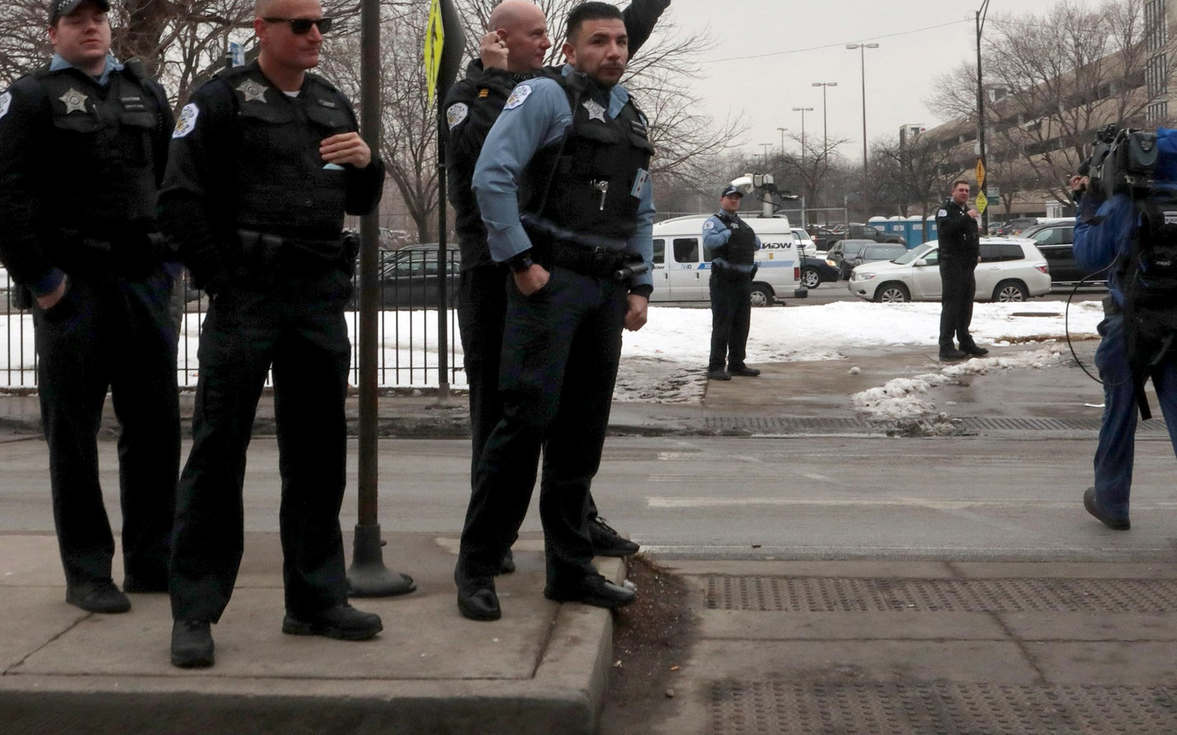 <p>A video has surfaced in which a Chicago police officer was seen picking up a man and slamming him to the ground during Thanksgiving day arrest. The officer has been sent to desk duty until further notice. According to the reports, his gun and badge were taken away, and he was assigned to the desk duty. He will not join the force back on the street until the Chicago Office of Police Accountability completes its review of the incident. Anthony Guglielmi, who is Chicago Police spokesman, informed about this incident in his tweet. The Office of Police Accountability is handling the case, and the officer will not return to his post until further notice, he added in his tweet. Police said that the officer had to act when a man spat in his face and threatened him. The single brief video cannot judge what exactly happened there. Mayor Lori Lightfoot said in his statement though the single video is not enough proof, whatever happened was disturbing.</p>