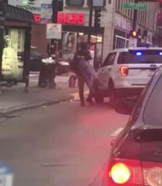 <p>A video was recorded by a woman in which a police officer was seen throwing a man to the ground. The officer has been relieved from his duties until further notice. The video was uploaded on facebook, after which it went viral. Anthony Guglielmi, who is the CPD Chief Communication Officer, said in his statement that the Chicago Office of Police Accountability is handling the use of force investigation into the incident. The police department is cooperating in the investigation. A witness said that he picked the man and slammed him on the ground. The man's head slammed on the ground hard. The police said that when they approached the 29-year-old man who was drinking at a bus stop, he spat on the officer and threatened him. Police then threw him on the ground. He was taken to the University of Chicago Medical Center in stable condition. He has been released and currently in police custody.</p><p><br></p><p><br></p>