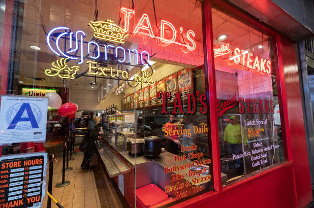 """<p>Tad's Steaks are finally getting cooked in the Big Apple. The cut-off meat slinger would shut down its last New York City outpost — which opened its doors off Times Square in 1960—in January, according to the government report which cited economic problems as the reason for the closing.</p><p>The chophouse-style cafeteria was known for hawking low-cost meat-and-potato dinners on red trays — meals that cost little more than $1 each when the first one opened in 1957. There could be a steak lunch today for as little as $9.</p><p>At its height, Tad's had eight stores in New York out of 28 nationwide Yet on Jan. 5, 2020, the red neon sign in the """"broiled"""" steaks marketing window at 761 Seventh Ave. will go dark — as will the vast bbq that featured the smoky """"steak displays,"""" where dozens of cuts could be grilled at once during the thick lunchtime.</p><p>On Wednesday, the patron, who identified himself as """"Bosco,"""" said the fare at Tad's known for its red velvet wallpaper and fake Tiffany lamps still compares favorably with that of other fast-fooders around Times Square.</p><p>""""The burgers taste great than McDonald's,"""" he added. """"It is a step above the Big Mac.</p><p>The closure of the Seventh Avenue at the corner of West 50th Street follows earlier shuttles in Philadelphia, Chicago, and New York. Next year, the only Tad's Steaks left in the country will be located in San Francisco. The Golden Gate City company is managed separately from those in New York run by the Riese Organization.</p><p>President Dennis Riese refused to comment. """"I guess they're closing because they still haven't changed — they haven't adjusted,"""" said Phineas Ng, a partner at Tad's Steaks San Francisco, adding a complete-day breakfast to their menu and table service in the coming months. """"We cater to families and tourists looking for an affordable meal.</p>"""