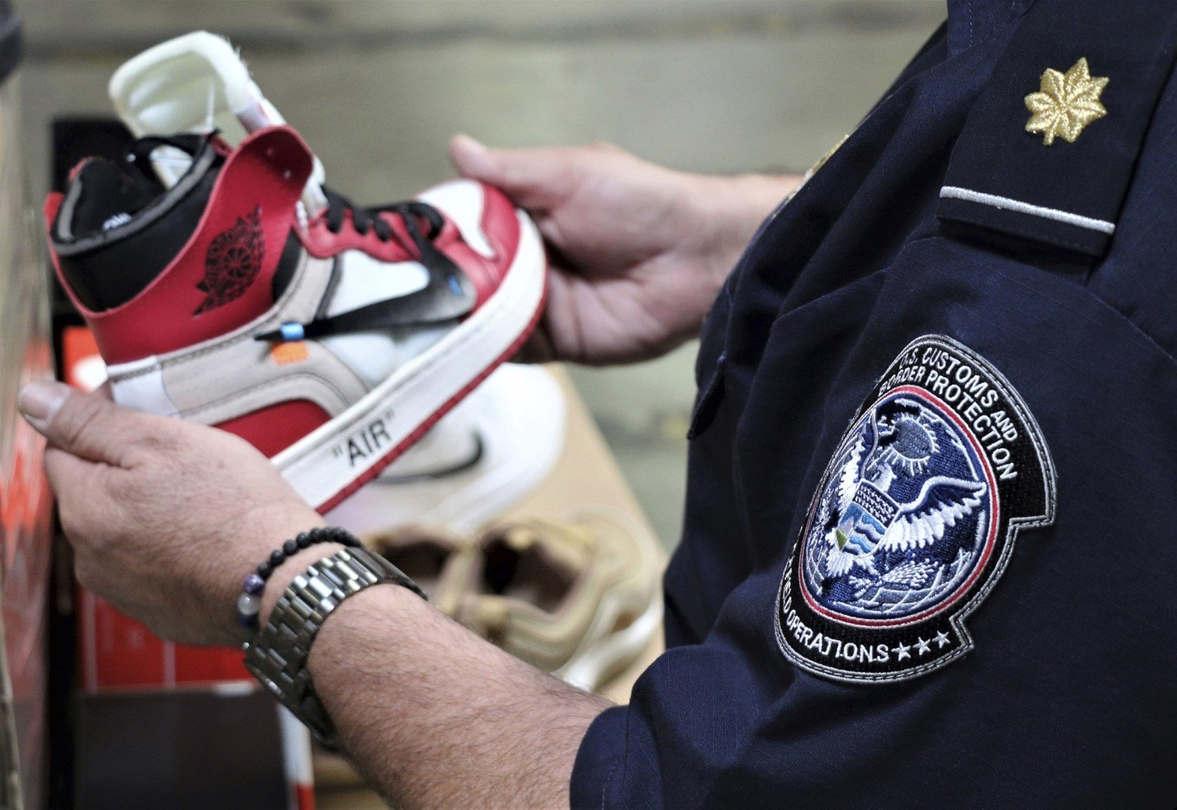"""<p>More than 14,800 pairs of fake Nike shoes that had been shipped from China and declared as napkins have been seized by customs officers in the area of Los Angeles.</p><p>If original Nikes and sold at the manufacturer's suggested retail price, the shoes would have been worth more than $2 million, U.S. Customs officers and Border Protection said in&nbsp;Wednesday statement.</p><p>Falsified sneakers are Air Jordans of various types. Customs officers said they included special edition and retro models that are very popular with collectors. Legitimate shoes will cost about $1,500 when they're sold online.</p><p>The fake Nikes had loosely attached Nike """"swoosh"""" symbols that appeared to be shoddily stitched to the sides of the sneakers, NBC reported of Los Angeles.</p><p>The CBP said the shoes, which were in 2 shipping containers, were found during an inspection of cargos from China by officials assigned to the Los Angeles/Long Beach Seaport. The police said the fake shoes were identified recently but did not specify an exact date.</p><p>""""Transnational criminal organizations continue to profit from American intellectual property by exporting their fake or pirated goods not only in the U.S. but around the world,"""" said Joseph Macias, special agent in charge of Homeland Security Investigations in Los Angeles.</p><p>The Port of Los Angeles and the Port of Long Beach are the largest and second busiest container ports in the United States. The two ports are situated in the same general area in southern Los Angeles County.</p><p>Customs and Border Protection report the counterfeit name-brand boots are a """"multi-million dollar illegal market"""" that is frequently used to fund criminal enterprises.</p><p>Footwear is second only to clothing and accessories among the total product seizures in fiscal 2018, CBP said in a report.</p>"""
