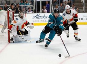 <p>Could Mario Ferraro consider himself becoming a part of the San Jose Sharks line-up next season?</p><p>After reports suggested that Radim Simek was unlikely to be ready to play for the San Jose Sharks at the start of the season. Attention turned to the 21-year-old Mario Ferraro prospect and his potential impact on the opening night roster.</p><p>The Sharks gave Ferraro a fair shake to earn minutes at the NHL. San Jose's second-round pick in 2017 was penciled in three of their preseason games, with Tim Heed second in the overall ice time.</p><p>It seems that Team Teal might have known all along that Simek wasn't ready for the start of the season, considering how much hockey they'd let the prospect play during that preseason contest.</p><p>He's certainly made a strong case for himself with his ability to transition the puck with relative ease by using his skate speed and passing prowess. To go along with this, the blueliner has a puck scorer mentality and is not scared to perform vigorously in the aggressive area to create parking and firing areas.</p><p>There have been times when he has been caught out of position because of this kind of assertiveness, yet he makes up for it by going back to defense using his hustle and strong edges.</p>