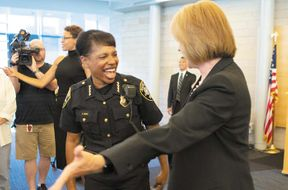 """<p><strong>SEATTLE – Seattle Police Chief Carmen Best, taking to social media, sounded off Friday at the city's repeat offenders.</strong></p><p>In a tweet she said, A property crime was reported by a businessman and the suspect was arrested by @SeattlePD. The suspect was released from prison within hours and came back to commit a new crime. The suspect was arrested again by the same officer. Not only does this hurt our community, it also hurts the moral of the officer. For the Major Cities Chiefs Association, Chief Best is currently in Chicago, and her words came as a surprise to Assistant Chief Deanna Nollette and Mayor Jenny Durkan, who were touring West Seattle and meeting business owners. """"Wow. Okay,"""" said Nollete, after seeing the tweet. """"I probably won't comment on it without knowing the specific thing she's talking about,"""" she added. """"I think she's more than ready to do it. If you look at the recent coverage that we see thousands of contacts being made, I think we're making thousands of arrests on everything from property crime to violent crime. We are part of a system that exists to hold people accountable and we are unable to control what happens upstream from what we do.</p><p><br></p>"""