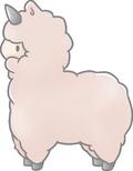 SA Bliss Original Alpacacorn Sticker