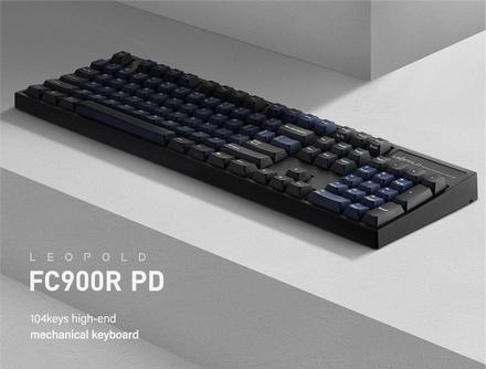 Leopold FC900R PD Dark Blue MX Clear