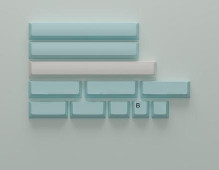 GMK Iceberg Spacebar Kit