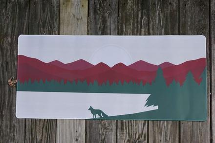 Fox Forest Deskpad Camping