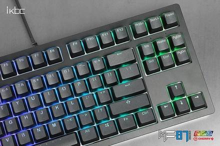 IKBC MF87 RGB Black ANSI MX Red