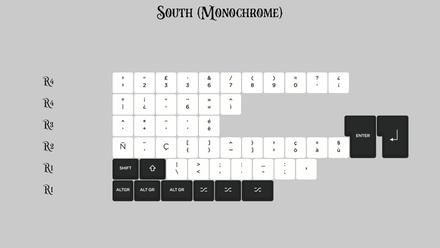 KAT Monochrome South Monochrome