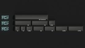DSS Lightcycle Black Spacebars