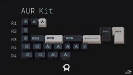 GMK Arch AUR Kit - Novelties [Pre-order]