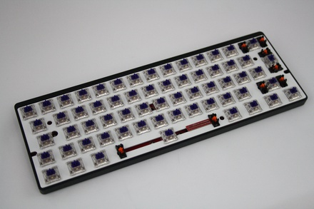 Vortex POK3R RGB ISO Zealio 65g - without keycaps