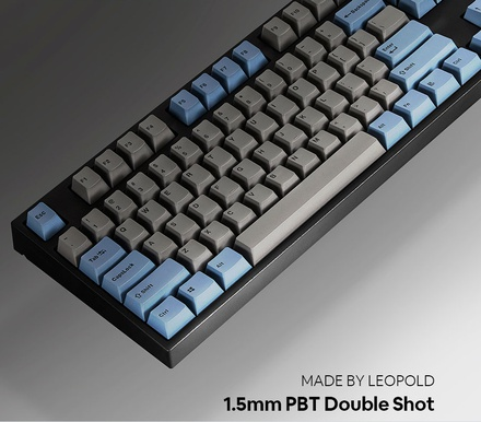 Leopold FC750R PD Blue Grey ANSI MX Silent Red