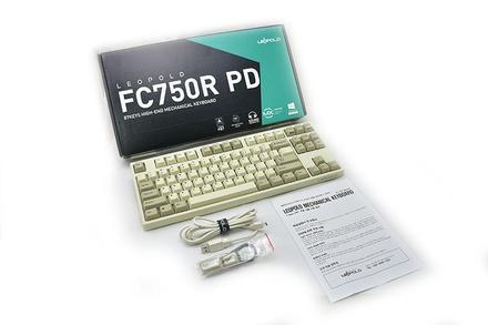Leopold  FC750R PD White ANSI MX Blue