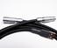 Non-coiled LEMO custom USB cable/ Blackest Black