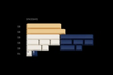 GMK Rudy R2 Spacebars
