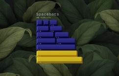 GMK Dream Bird Spacebars