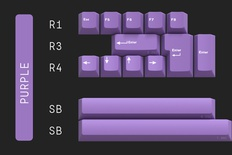 Geekark Dolch Purple Accents