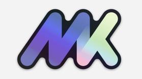 MK Holographic sticker