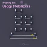 Usagi Stabilizers 7x 2u, 1x 6.25/7u