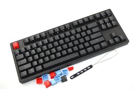 IKBC MF87 RGB Black ANSI MX Brown