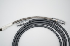 Sterling by Keebstuff - custom USB cable