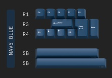 Geekark Dolch Navy Blue Accents