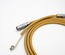 Non-coiled LEMO custom USB cable/ Vanilla Sands