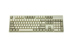 Leopold FC900R PD White ANSI MX Red
