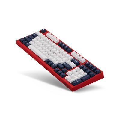 Leopold FC980M PD White Blue Star MX Red