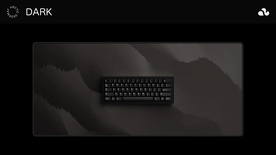 Arctic Dark Deskmat