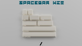 JTK Azure Spacebar (White)