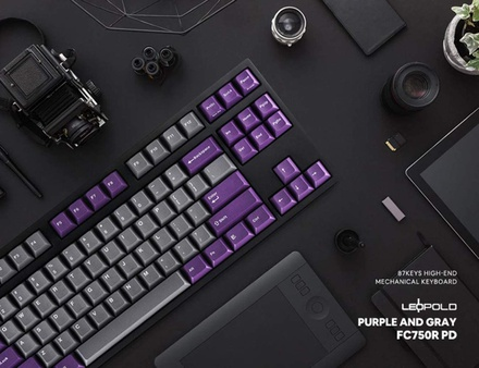 Leopold FC750R PD Grey/Purple MX Red