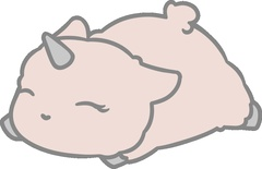 SA Bliss Sleepy Alpacacorn Sticker