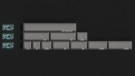 DSS Lightcycle Grey Spacebars