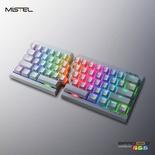 Mistel MD600 RGB White ANSI MX Black