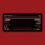 Cyberpnk Red Deskmat