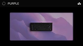 Arctic Purple Deskmat
