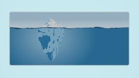Iceberg Deskmat