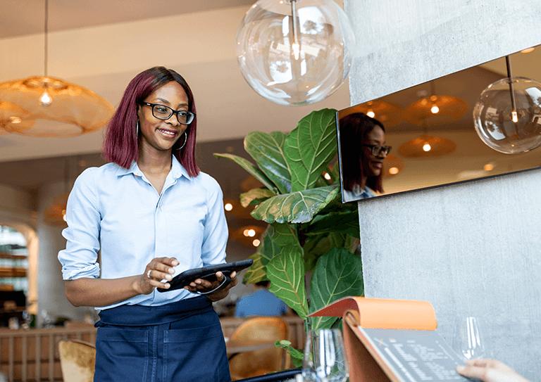 Het hotel restaurant kassasysteem voor de <br>meest flexibele service