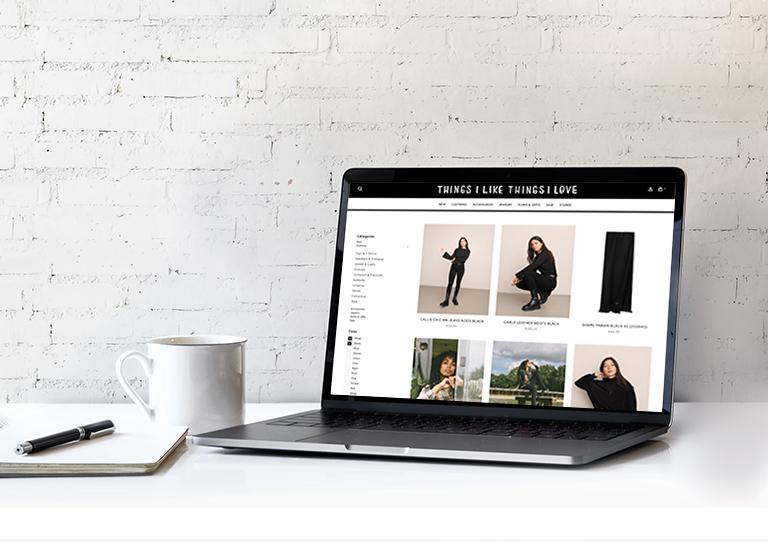 Maak uw webshop <br>helemaal eigen