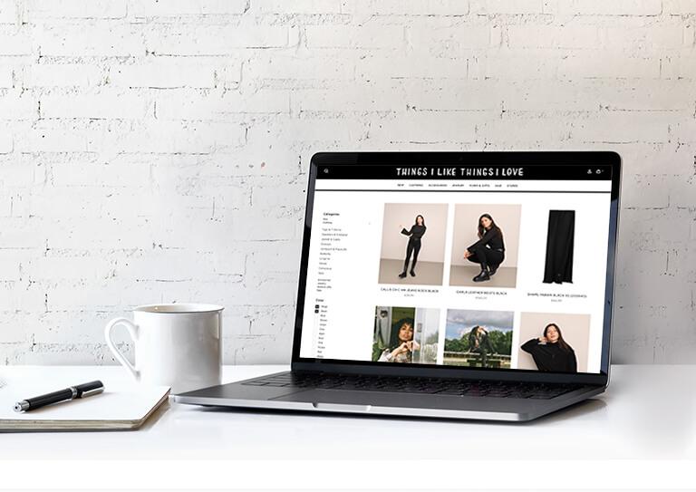 Ein Onlineshop ganz nach Ihrem Geschmack