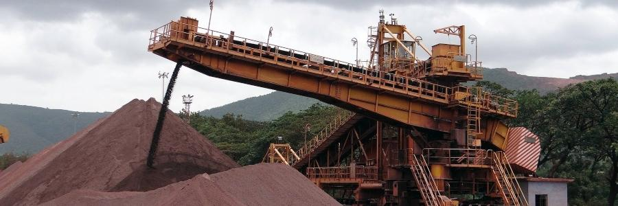 minerio de ferro imagem destaque pixabay