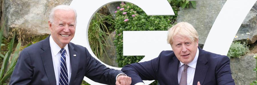 joe biden boris johnson imagem destaque Andrew Parsons / Nº 10 Downing Street