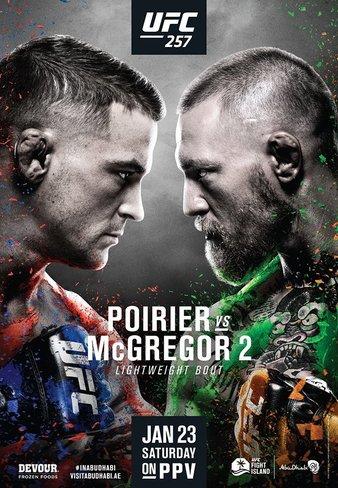Ufc 257 Poirier Vs Mcgregor 2 Results Fight Odds
