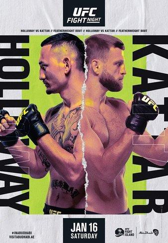 Ufc Fight Night Holloway Vs Kattar Results Fight Odds